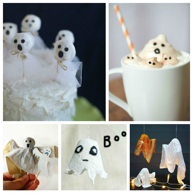 25+ Spooky Ghosts – Inspiration