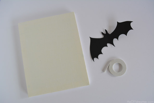 How to make bat canvases