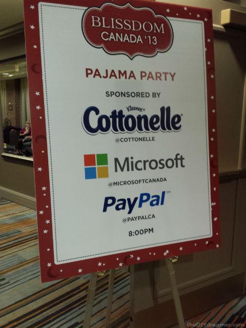 Pajama Party Sponsors