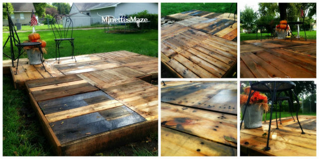 diy wood deck