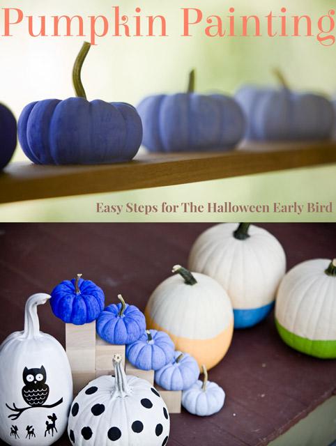 Pumpkin Painting (3 ways)