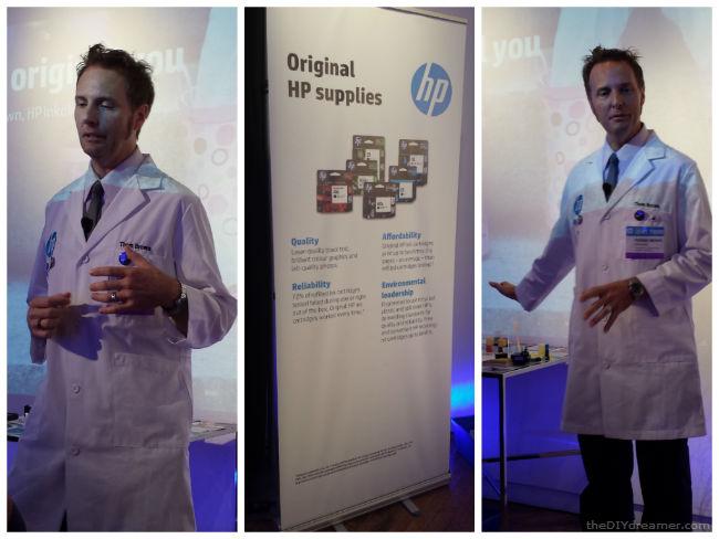 Thom, HP's inkologist