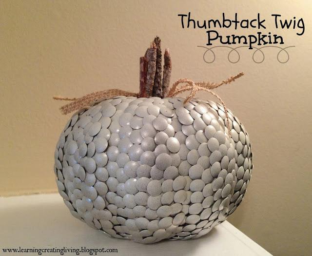 Thumbtack Twig Pumpkin