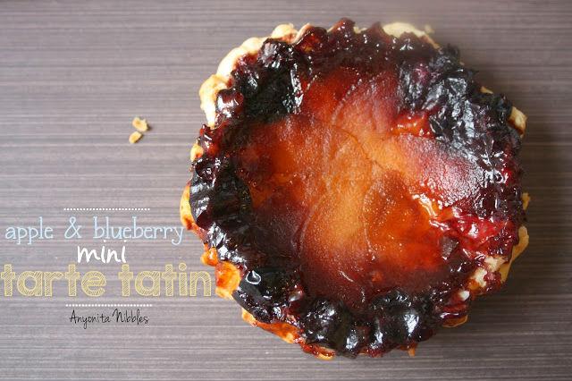 Apple and Blueberry Mini Tarte Tartin Recipe