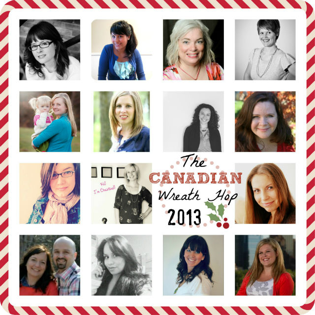 Canadian Blogger  #wreathhop