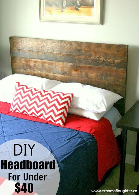 DIY Headboard under $40