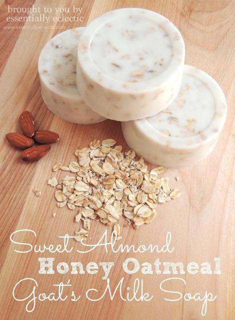 Sweet Almond Honey Oatmeal Goat's Milk Soap - Tutorial