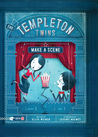 The Templeton Twins Make a Scene - Book 2