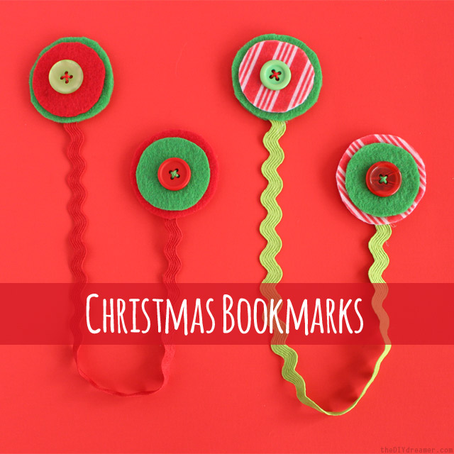 Christmas Bookmarks - Easy Tutorial