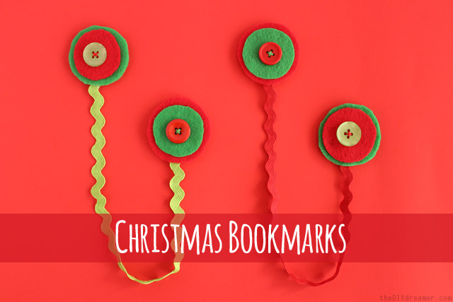DIY Christmas Bookmarks - Easy Tutorial