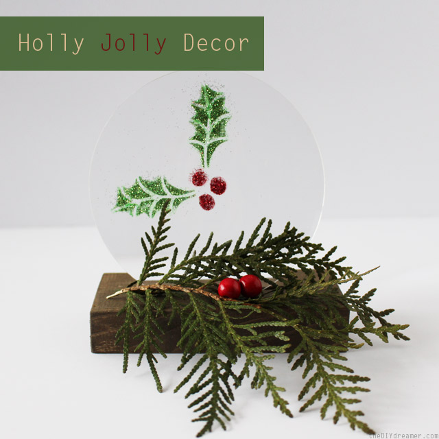 Holly Jolly Centerpiece – Holiday Decor #12MonthsofMartha