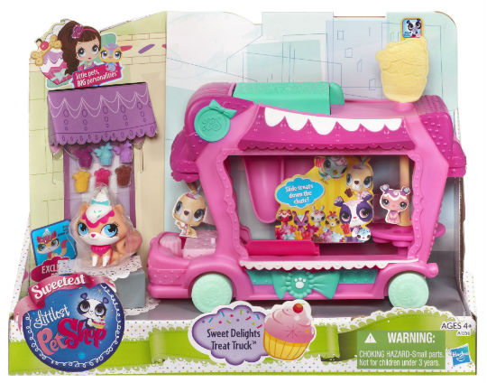 Littlest Pet Shop Sweet Delights Treat Truck Set