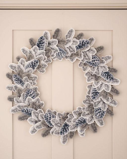 Beautiful Sticker Handmade Wreath