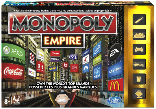 Family Fun with Monopoly Empire from Hasbro Canada
