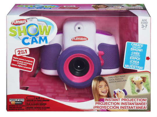 Playskool Showcam 2-in-1 Digital Camera and Projector Girl