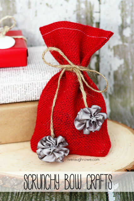Scrunchy Bow Crafts