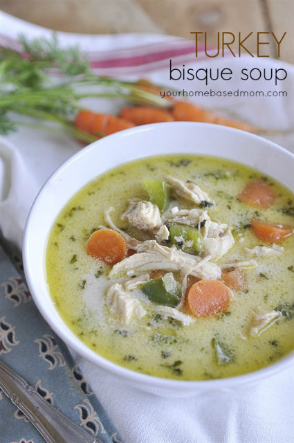 Turkey Bisque Soup Recipe