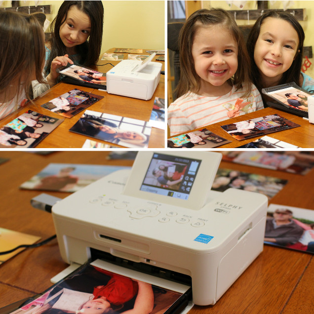 Printing Photos with Kids – Canon Selphy CP900 – #CanonCanada