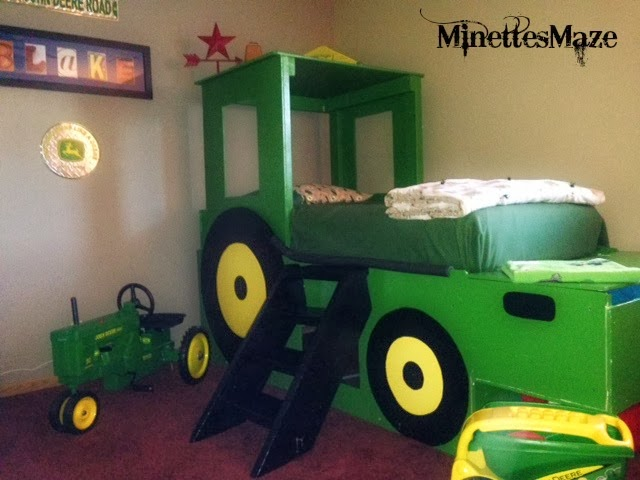 From dream to reality 101 add your projects for John deere bedroom ideas