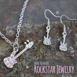 How to make Rockstar Jewelry - thediydreamer.com