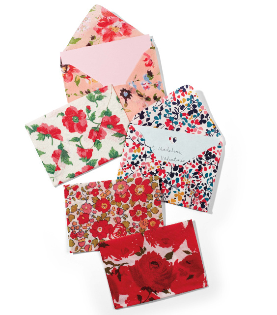 Fabric Envelopes - Created with Scrap Fabric