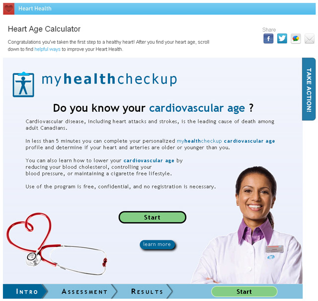 Heart Age Calculator