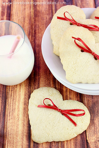 Hearts and Bows Cookies