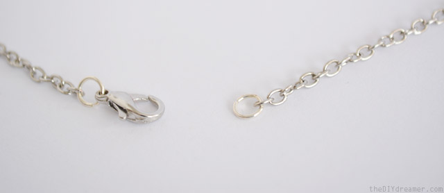 How to add a lobster clasp and jump-rings