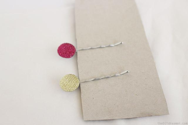 How to make cute hair pins