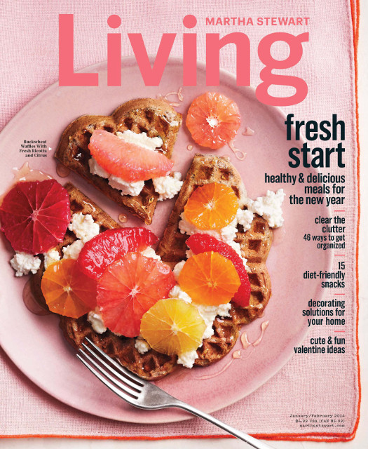 Martha Stewart Living - January/February 2014 Issue