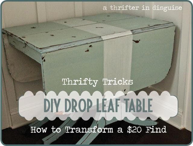 DIY Drop Leaf Table