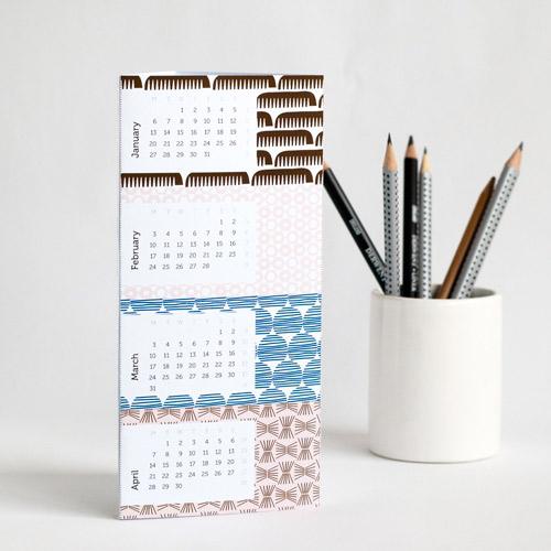Wraparound 2014 Calendar - Printable