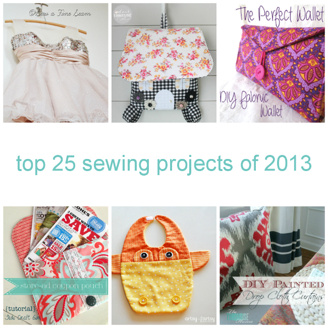 Top 25 Sewing Projects