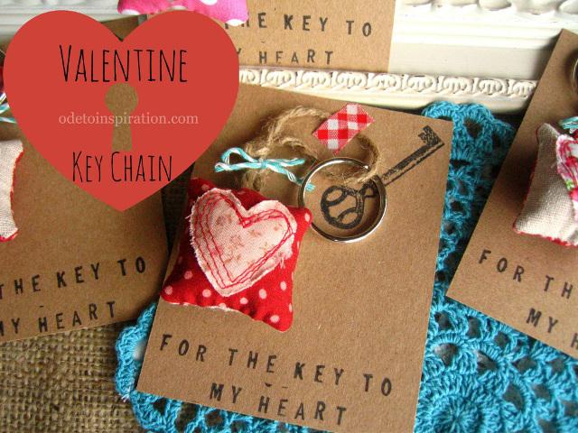 Beautiful Valentine Key Chain