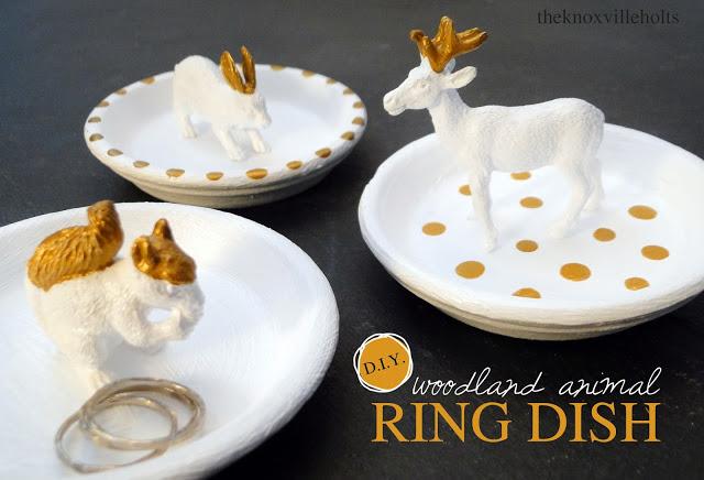 Woodland Animal Ring Dish