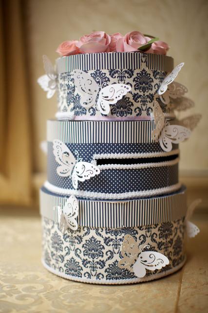DIY Wedding Cake Card Box Tutorial