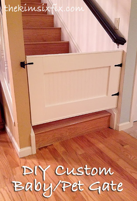 DIY Custom Baby Gate