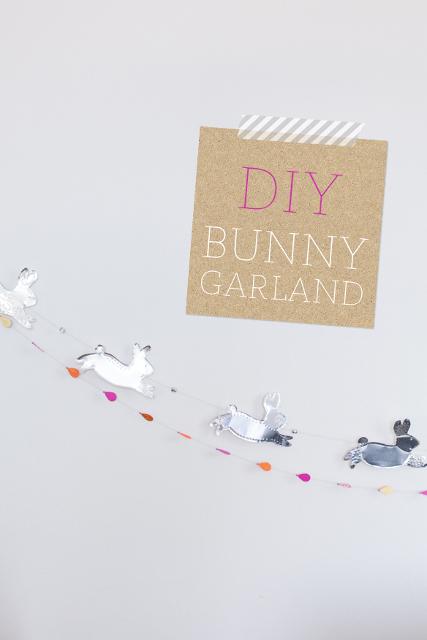 DIY Bunny Garland