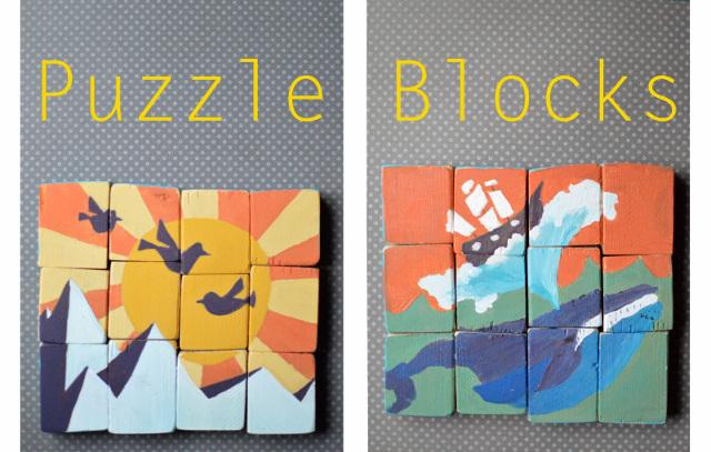 DIY Puzzle Blocks