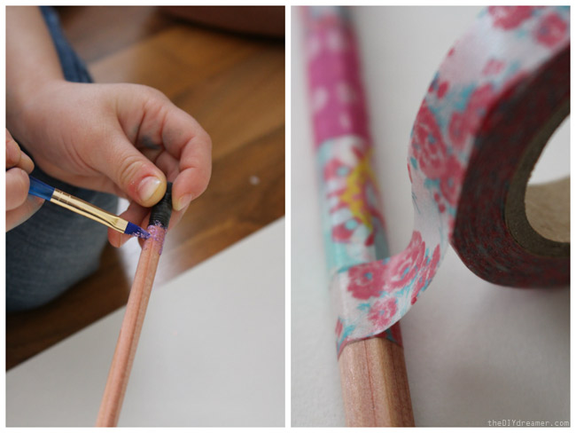 Decorate Pencils with Kids