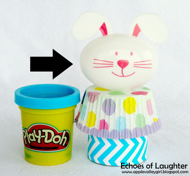 Play-dough Easter Favors