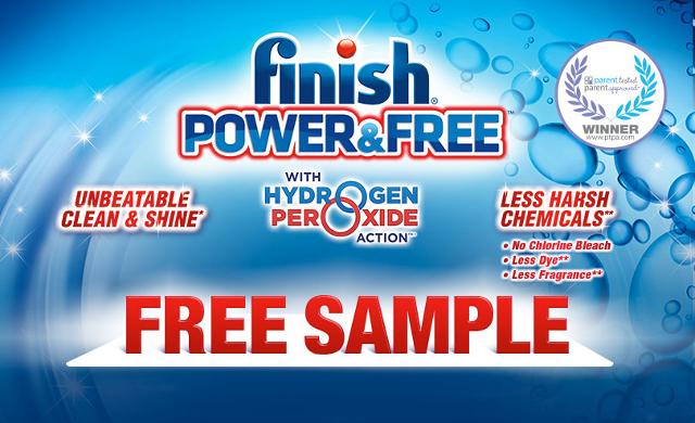 Finish® Power & Free™ - Free Sample