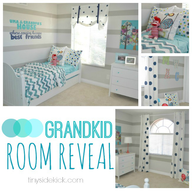 Grand-kids Bedroom Reveal