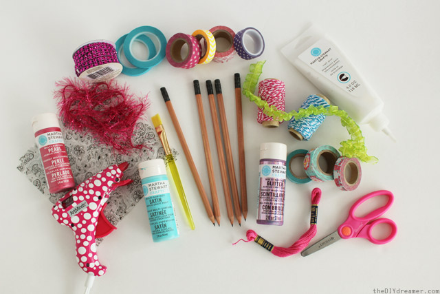 Pencil Decorating Supplies