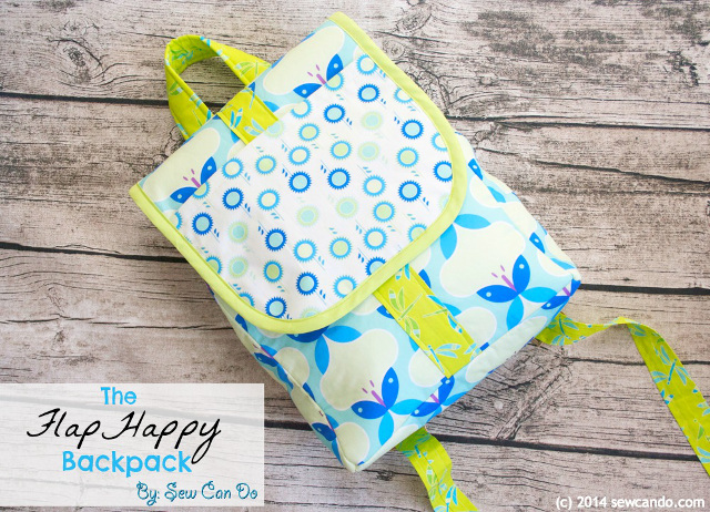 Flap Happy Backpack - Sewing Tutorial