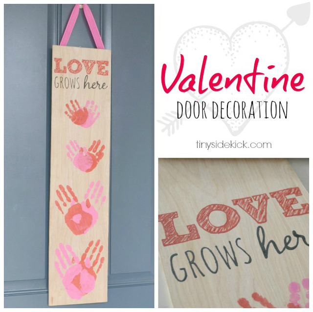 Valentine's Front Door Decor