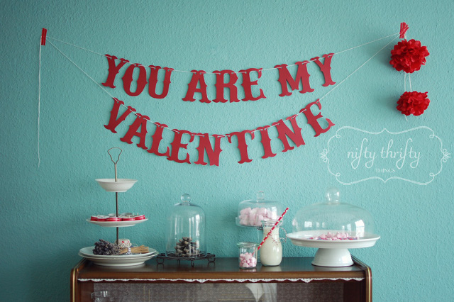 Cute Valentine Garland