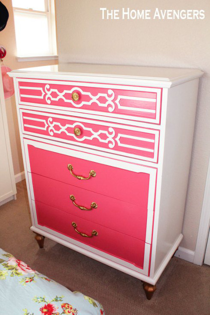 Gorgeous Dresser Makeover
