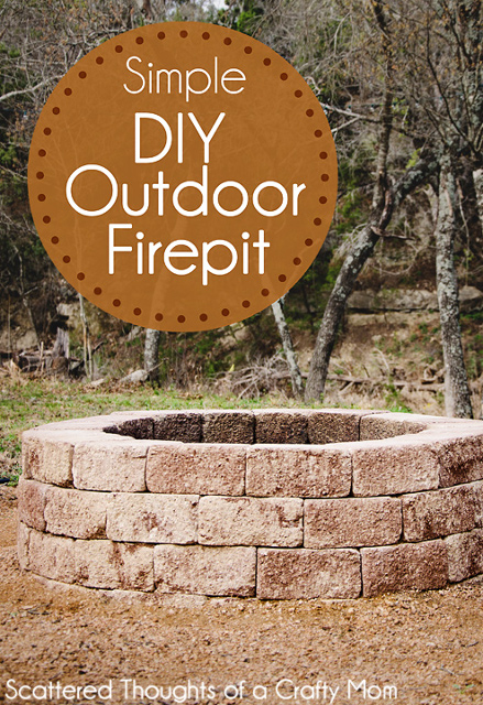 How to make an outdoor fire pit