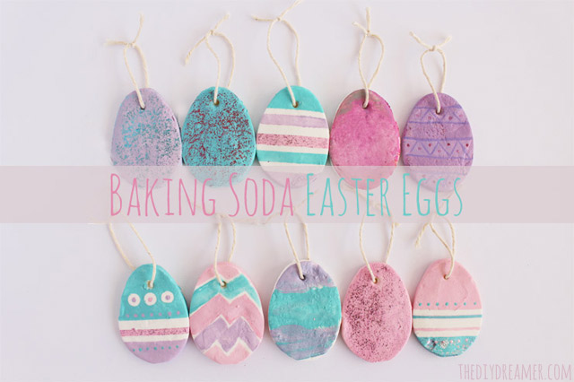 Baking Soda Easter Eggs - Easter Crafts